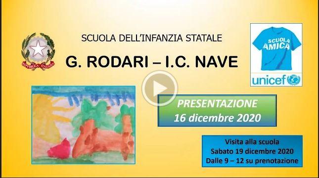 Video scuola Infanzia Rodari